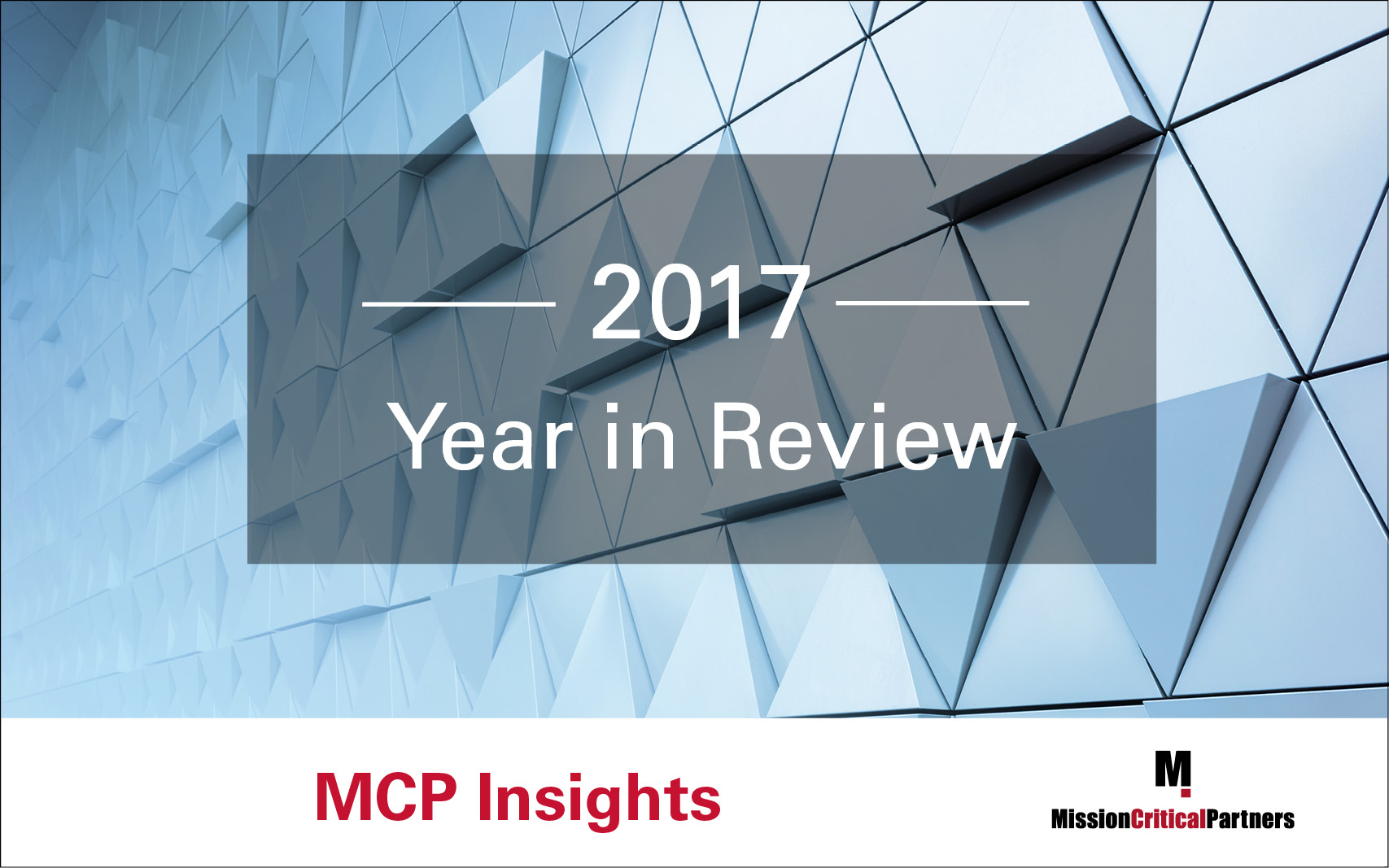 MCP Insights by Mission Critical Partners   Industry News